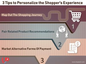 3 Tips to Personalize the Shopper's Experience