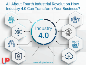 All About Fourth Industrial Revolution-How Industry 4.0 Can Transform Your Business?